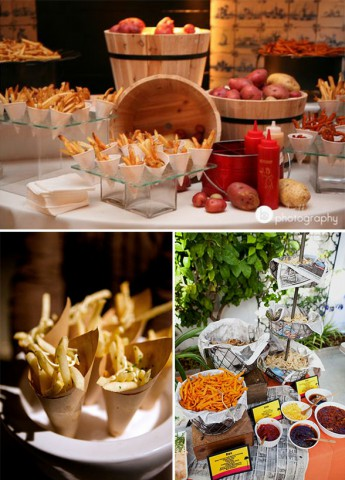 fun wedding food interesting food stations innovative catering